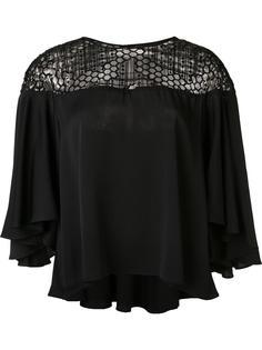 блузка с декорированной панелью Milly