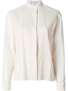 плиссированная рубашка  Céline Vintage