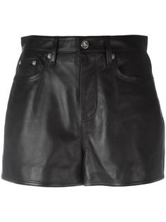 кожаная мини-юбка Calvin Klein Jeans