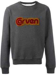 толстовка с нашивкой-логотипом Carven