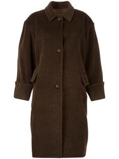 пальто свободного кроя Jil Sander Vintage