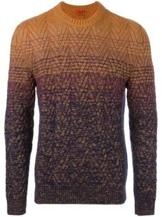 пуловер с градиентным эффектом Missoni