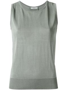 sleeveless knit blouse Egrey