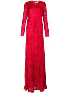 jacquard long dress Maison Rabih Kayrouz