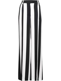 широкие брюки в полоску MSGM