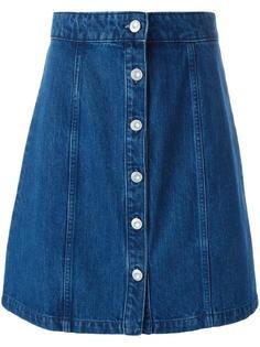 ждинсовая юбка А-образного силуэта Être Cécile