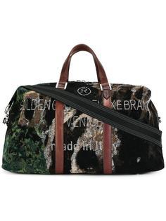 дорожная сумка с камуфляжным принтом Golden Goose Deluxe Brand
