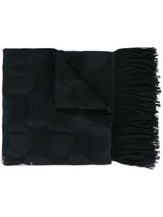 шарф с прозрачными деталями Armani Collezioni