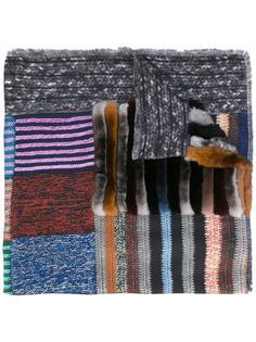 шарф в стиле пэчворк Pierre-Louis Mascia