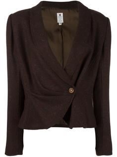 укороченный пиджак Emanuel Ungaro Vintage