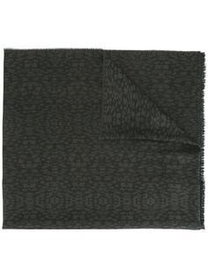 шарф с анималистическим узором Lanvin
