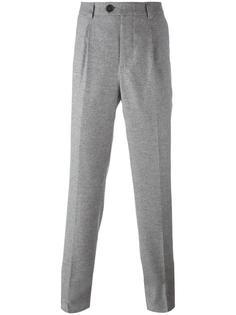 классические брюки кроя слим Brunello Cucinelli