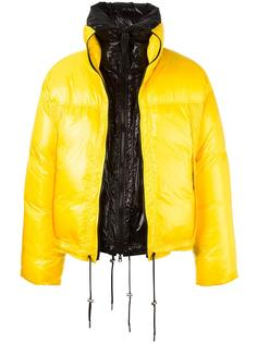 oversized zipped jacket Raf Simons