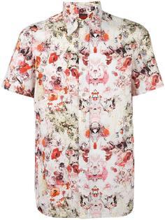 рубашка с цветочным принтом Jean Paul Gaultier Vintage