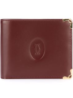 бумажник с тисненым логотипом Cartier Vintage