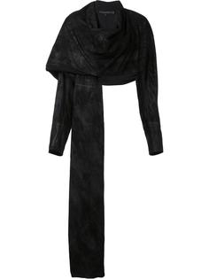 draped asymmetric jacket  Urban Zen