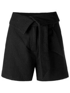 texturized shorts Giuliana Romanno