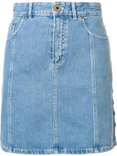 джинсовая юбка с высокой талией Chloé