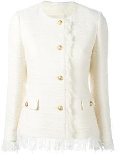 твидовый пиджак с застежкой на пуговицы Tagliatore