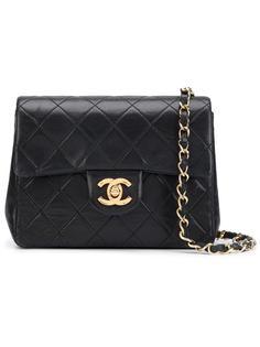 мини сумка с откидным клапаном Chanel Vintage