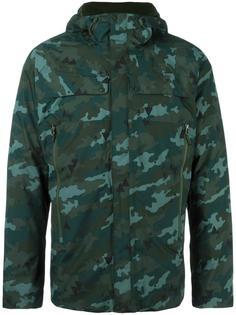 дутая куртка с камуфляжным рисунком The North Face