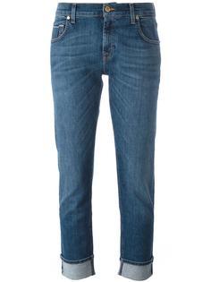 укороченные узкие джинсы 7 For All Mankind