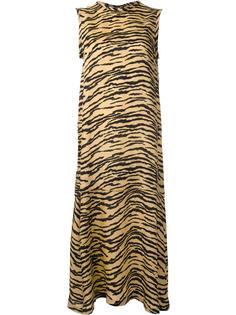 платье с зебровым принтом  Toga