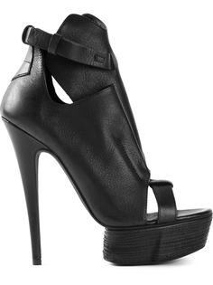 туфли 'Kyle Lux' на платформе с открытым носком Cinzia Araia