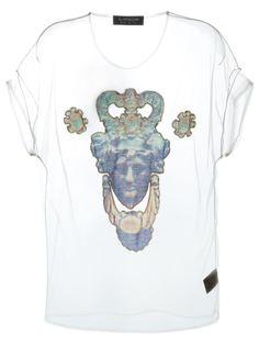 прозрачная футболка с фото-принтом Antpitagora