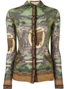 рубашка с графическим принтом  Jean Paul Gaultier Vintage