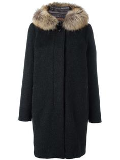 пальто 'All Good' с мехом енота Woolrich