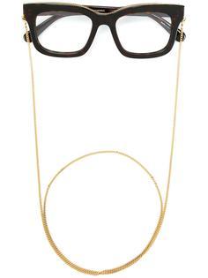 очки 'Falabella' с массивной оправой Stella McCartney