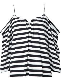 блузка в полоску  Nicole Miller
