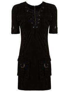 v-neck dress Andrea Bogosian