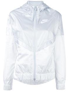 куртка-ветровка дизайна колор-блок Nike