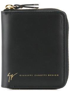 кошелек с круговой молнией Giuseppe Zanotti Design