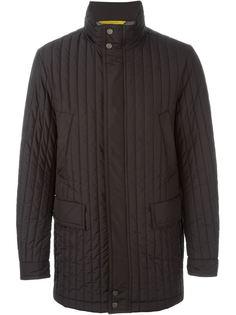 стеганое пальто  Canali