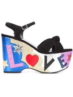 босоножки 'Candy 50 Love' Saint Laurent