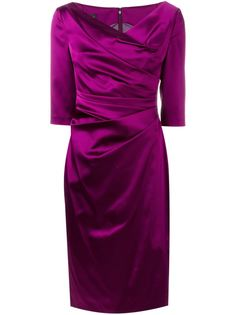 платье со сборкой 'Colly'  Talbot Runhof