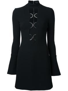 платье с вырезными деталями David Koma