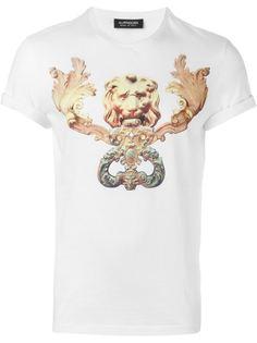 футболка с принтом Antpitagora