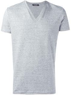 футболка с V-образным вырезом Dsquared2 Underwear