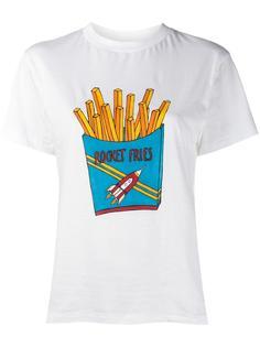 футболка с принтом Ganni