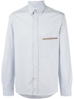 рубашка в полоску Umit Benan