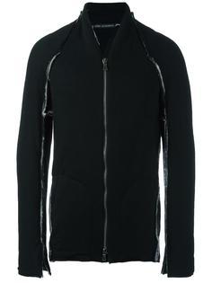 куртка-бомбер с небрежными швами Cedric Jacquemyn
