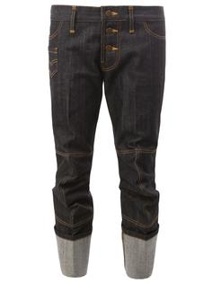 folded cropped jeans Christopher Nemeth