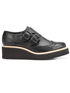 туфли монки в стиле брог Y's