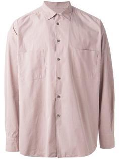 свободная рубашка гингем Romeo Gigli Vintage