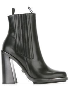 ботинки на высоком каблуке Versace