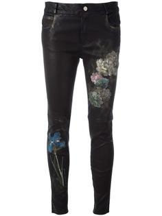 узкие брюки с цветочным принтом Pihakapi